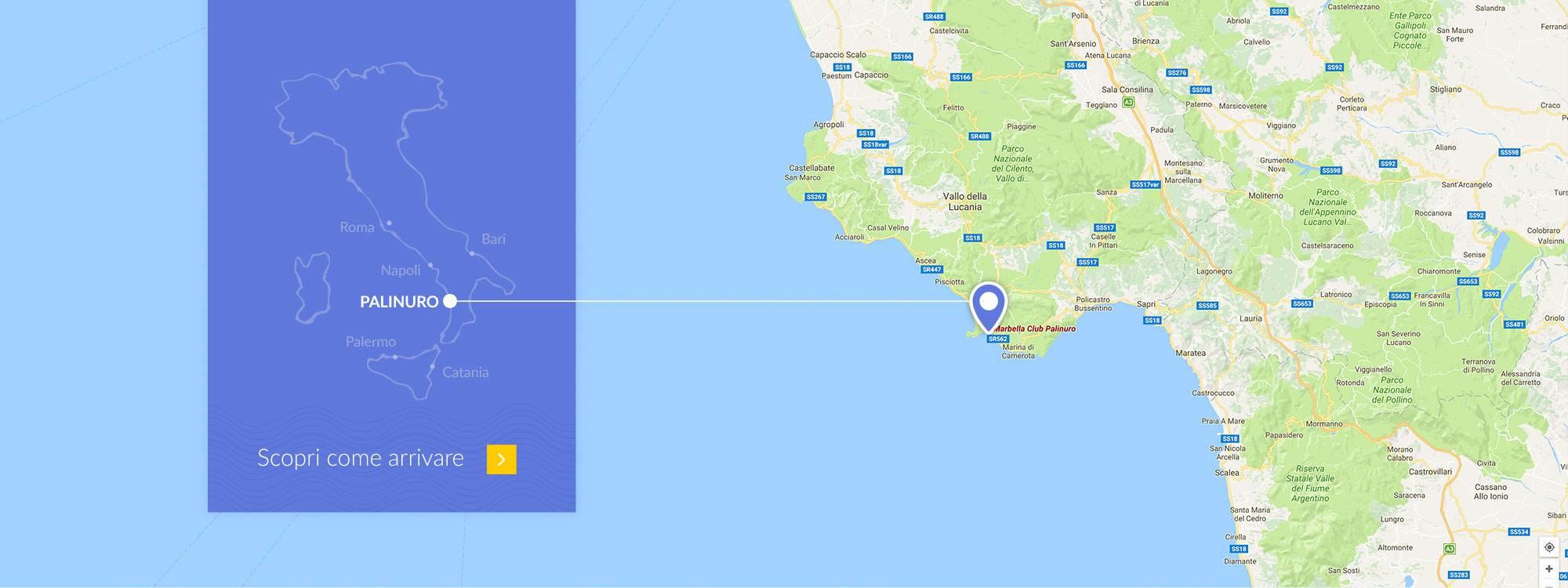 mappa dove siamo Marbella Club