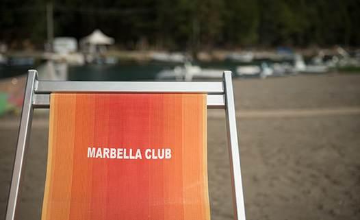 Brandina spiaggia Marbella Club