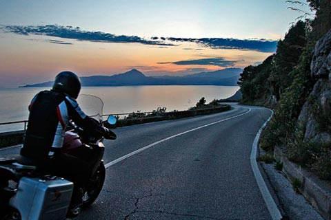 Mototurismo nel Cilento