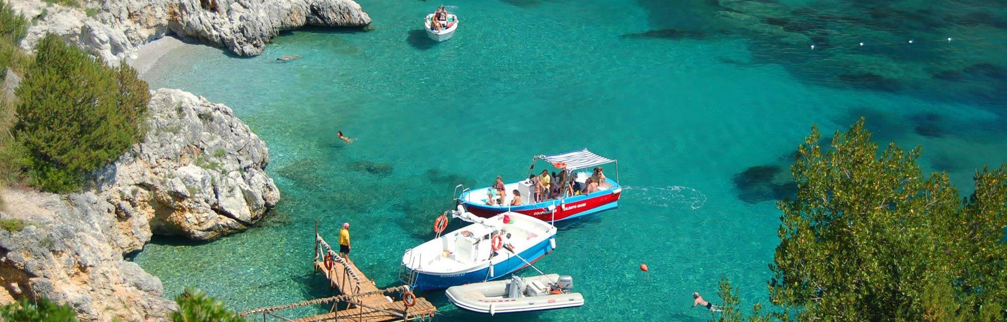 Spiaggia, Costa & Mare a Palinuro, Marbella Club