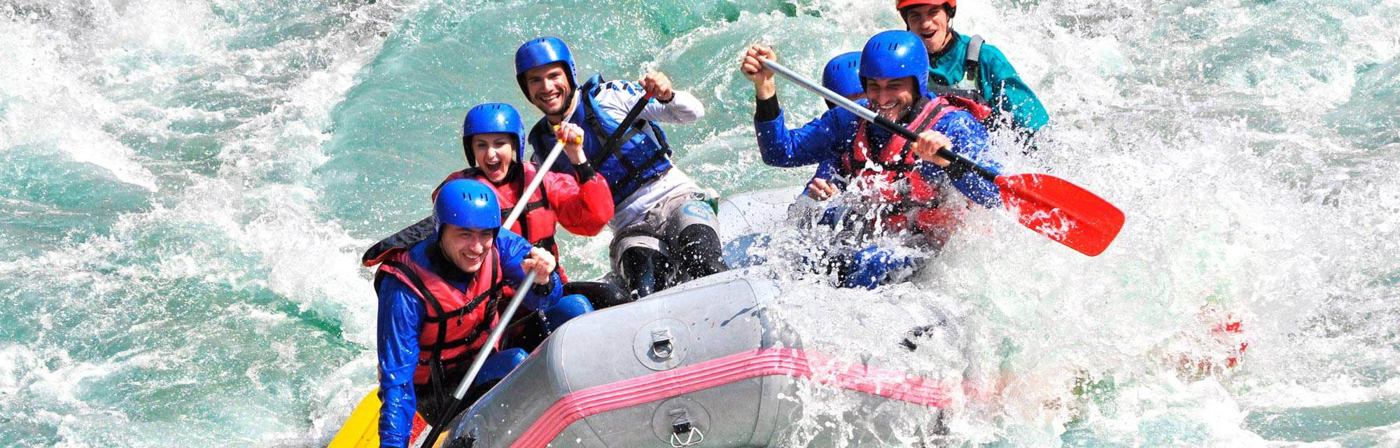 Rafting sul fiume Bussento, Marbella Club