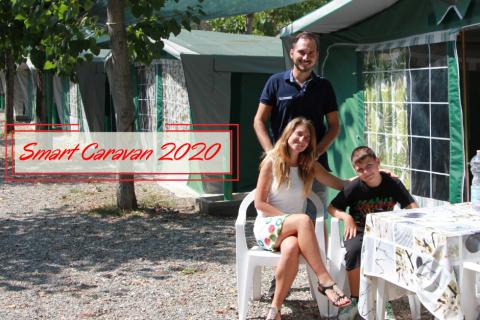 Smart CARAVAN CON SERVIZI E TENDE MARBELLA 2020